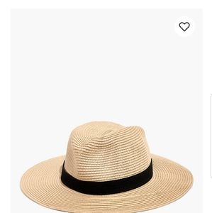 Packable Mesa Madewell Straw Hat